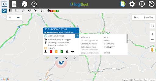 Logifleet Software Features